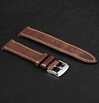 Weiss Leather Watch Strap Tan