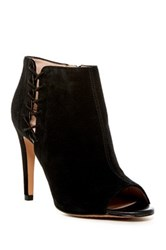 French Connection Quincy Peep Toe Bootie Black