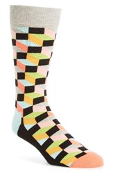 Happy Socks Men's Geometric Cotton Blend