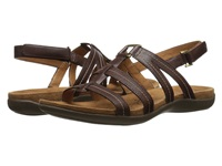 Naturalizer Every Bridal Brown Leather Women's Sandals