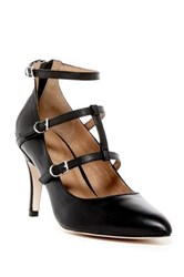 Corso Como Carter Tiered Ankle Strap Pump Black