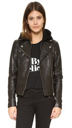Mackage Yoana Leather Jacket Black