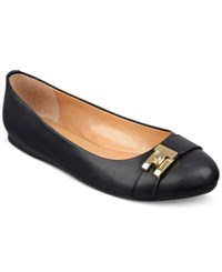 Tommy Hilfiger Catyan Flats Women's Shoes Black