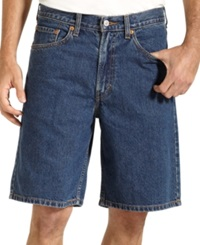 Levi's 550 Relaxed Fit Dark Stonewash Jean Shorts Dark Stonewash