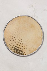 Anthropologie Glimmer Ring Coaster Gold