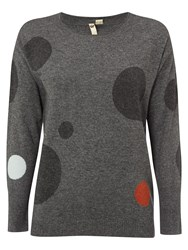 White Stuff Macchia Spot Jumper Grey