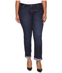 Lucky Brand Plus Size Ginger Straight In Serpantine Serpantine Women's Jeans Black