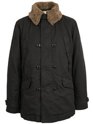 Pretty Green Parbrook Military Style Jacket Black