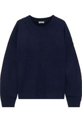 A.L.C. Woman Kruger Merino Wool Sweater Navy