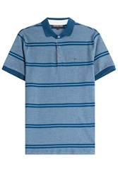 Michael Kors Collection Striped Cotton Polo Shirt Stripes