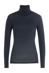 Majestic Cotton Turtleneck With Cashmere Gr. 2