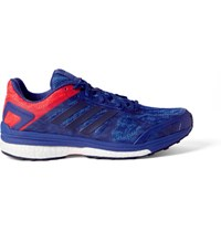 Adidas Sport Supernova Sequence 9 Rubber Trimmed Mesh Sneakers Cobalt Blue