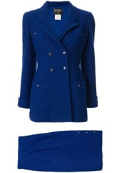 Chanel Pre Owned 1995 Setup Skirt Suit 60