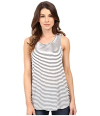 Calvin Klein Jeans Striped Tank Top Classic White Women's Sleeveless Beige
