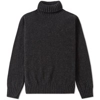 Jamiesons Of Shetland Jamieson's Roll Neck Knit Grey