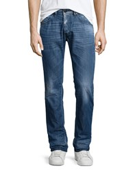 Diesel Belther Faded Tapered Jeans Denim Blue L32