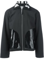 Christopher Shannon Varnished Pocket Jacket Black