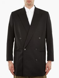 Paul Smith Black Oversized Double Breasted Jacket