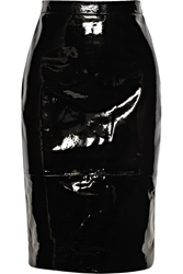 Givenchy Pencil Skirt In Black Patent Leather