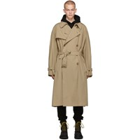 Vetements Beige New Classic Trench Coat