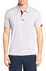 Oakley Gravity Polo Shirt Purple Haze