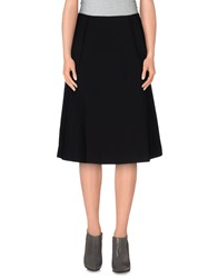 Ekle' Skirts Knee Length Skirts Women Black
