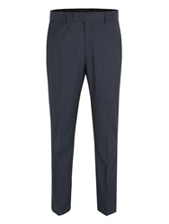 Racing Green Navy Tonic Wool Suit Trouser