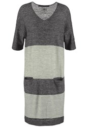 Noa Noa Jumper Dress Art Green Anthracite