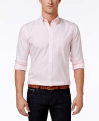 Brooks Brothers Men's Gingham Cotton Shirt Op Pink