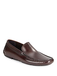 Kenneth Cole Under Go Leather Loafers Brown