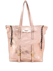 Zadig And Voltaire Bianca Xl Tote Pink