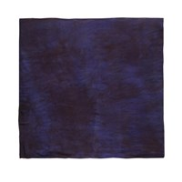 Ever Reve Dylan Navy Hand Dyed Scarf Blue