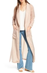 Trouve Women's Belted Duster Jacket