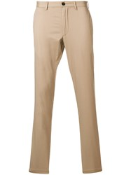 Michael Kors Collection Slim Fit Chinos Nude And Neutrals