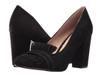 Steven Jade Black Suede High Heels