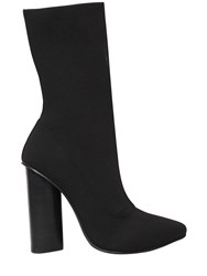 Windsor Smith 100Mm Yuki Knit Ankle Boots