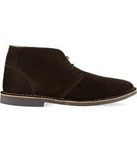 Kg By Kurt Geiger Arliz Chukka Boots Brown