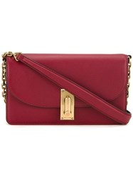 Marc Jacobs 'West End' Chain Wallet Red