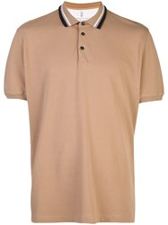 Brunello Cucinelli Classic Polo Shirt Brown