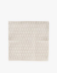 Cotton And Flax Linen Cocktail Napkin Set Triangle