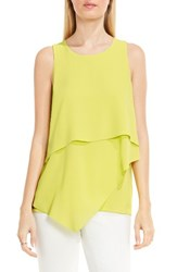 Vince Camuto Women's Tiered Asymmetrical Blouse