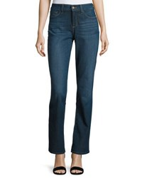 Nydj Marilyn Straight Leg Denim Jeans Blue