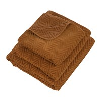 Abyss And Habidecor Montana Egyptian Cotton Towel 735 Orange