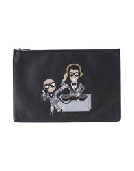 Dolce And Gabbana Document Holders Black
