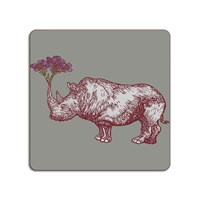 Avenida Home Puddin' Head Animaux Placemat Rhino