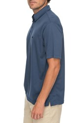Quiksilver Waterman Collection Water 2 Technical Polo Shirt Dark Denim