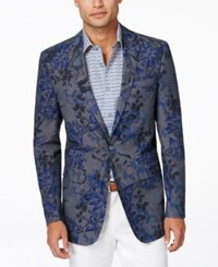 Tallia Men's Big And Tall Vince Floral Print Sports Coat