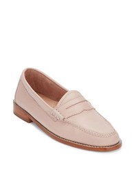 G.H. Bass Whitney Leather Penny Loafers Blush