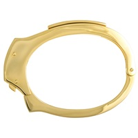 Cast Of Vices Handcuff Bracelet Gold