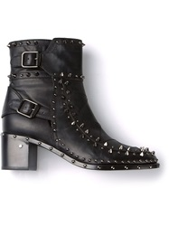 Laurence Dacade Studded 'Badely Booties' Black